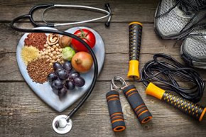 Diabetes health management - food and exercise