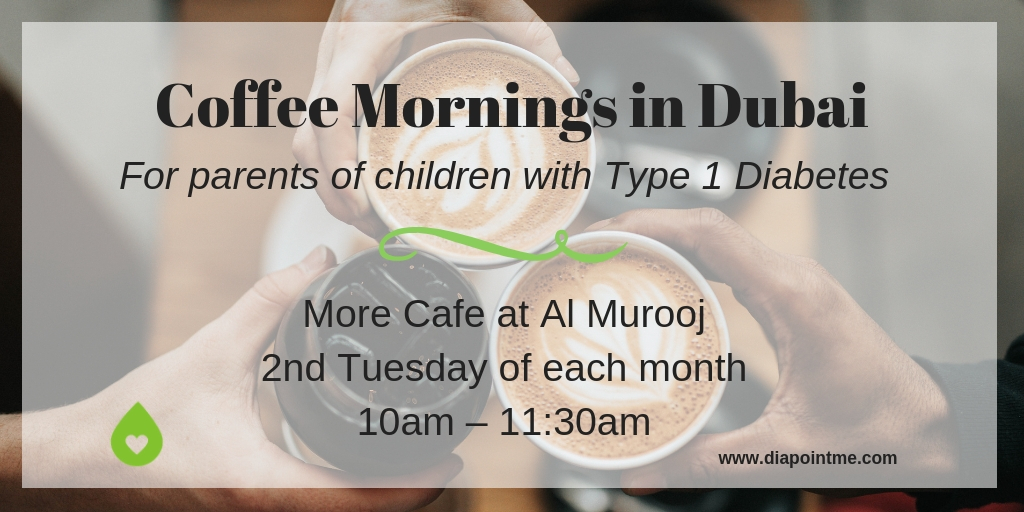 Coffee Mornings in Dubai For Parents of Children with Type 1 Diabetes