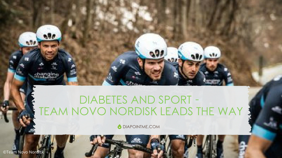 Diabetes and Sport – Team Novo Nordisk Leads The Way
