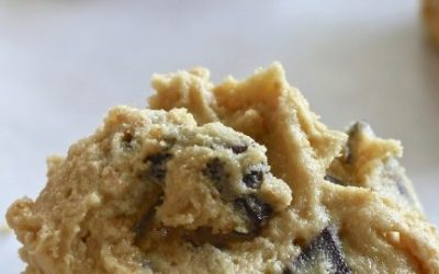 No Flour Cookie Dough