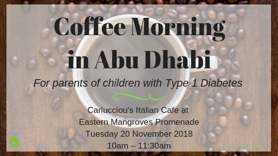 Coffee Morning in Abu Dhabi For Parents of Children with Type 1 Diabetes