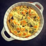 Diabetes friendly frittata recipe - low carb