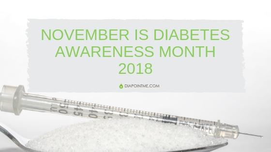 November is Diabetes Awareness Month 2018