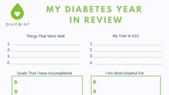 Your Free Diabetes Year In Review Template Diapointme