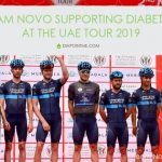 Team Novo supporting diabetes via cycling