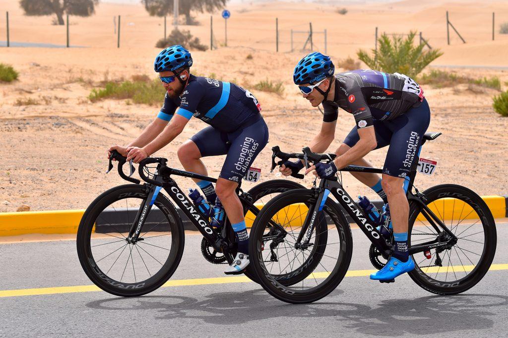 Team Novo supporting diabetes through cycling