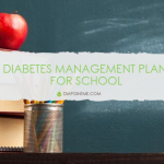 Diabetes management plan for school children