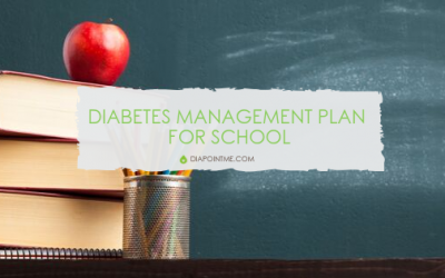 Diabetes Management Plan for School