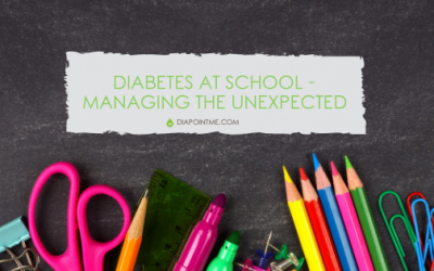 School and Diabetes – Managing The Unexpected