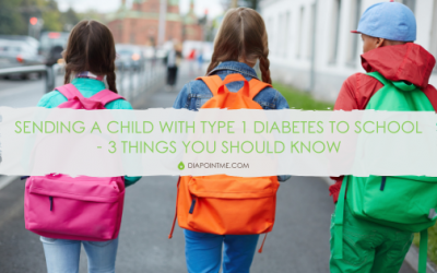 Sending A Child With Type 1 Diabetes To School – 3 Things You Should Know