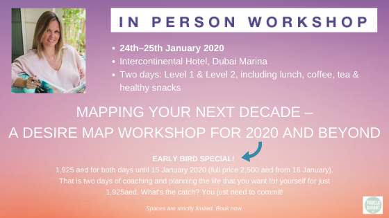 Mapping Your Next Decade – A Desire Map Workshop for 2020 and Beyond