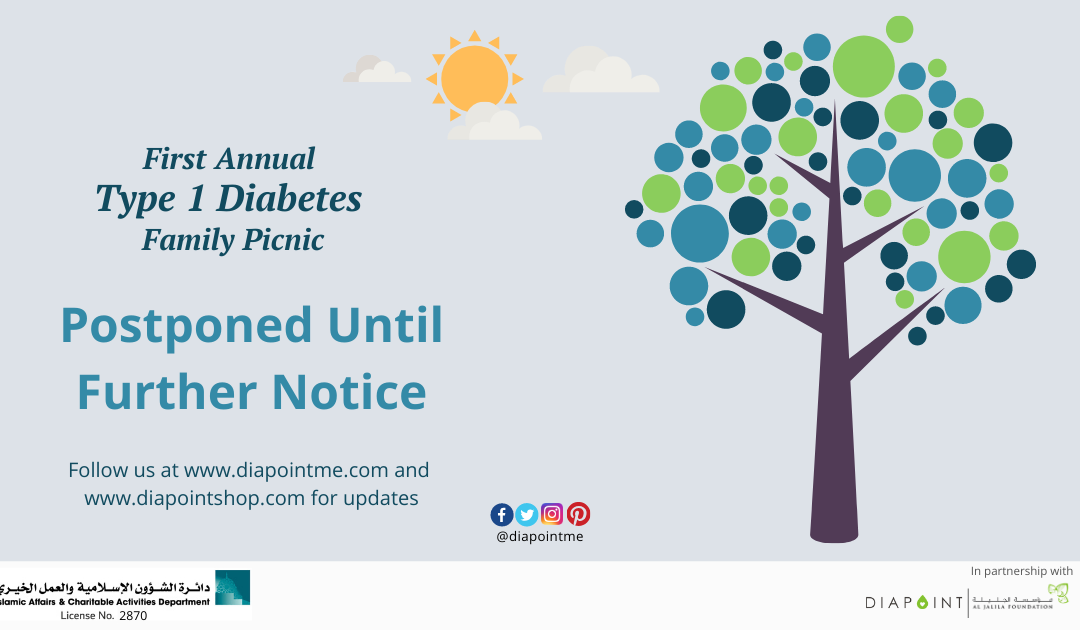 Diapoint Type 1 Diabetes Family Picnic Rescheduled