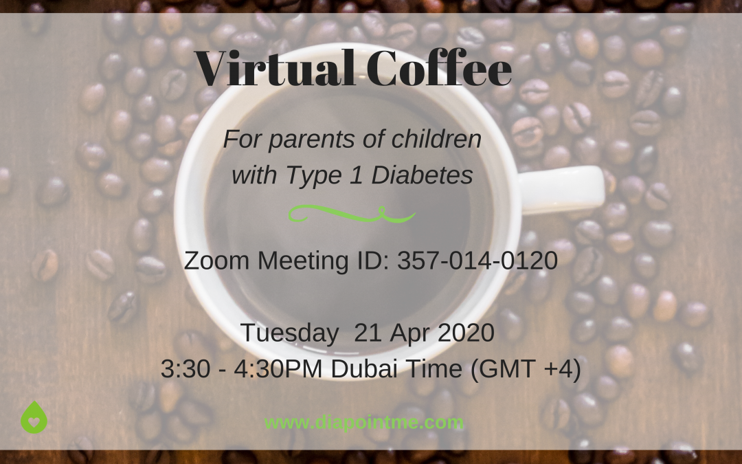 Virtual Coffee During COVID-19 for Parents of Children with Type 1 Diabetes