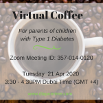 Virtual coffee during COVID-19 diabetes