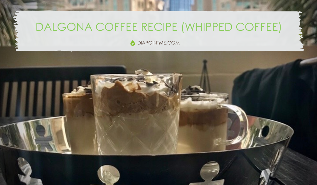 Dalgona Coffee Recipe (Whipped Coffee) With Less Sugar
