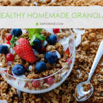DIY homemade granola recipe