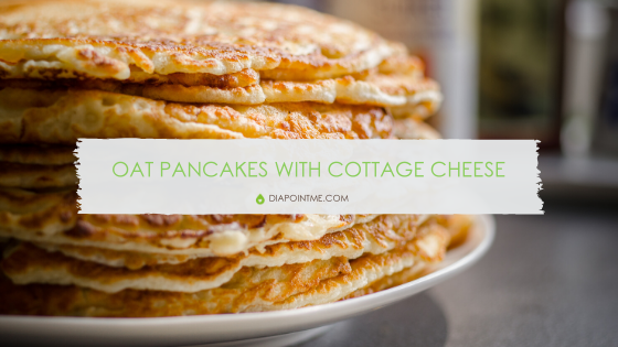 Oat Pancakes with Cottage Cheese