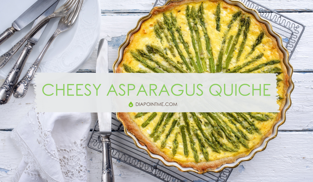 Cheesy Asparagus Quiche Recipe