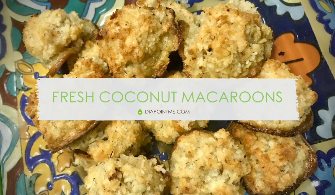 Fresh Coconut Macaroons