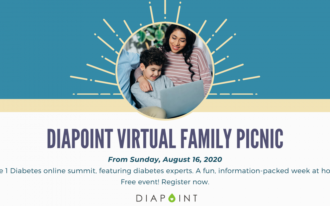 Diapoint Virtual Family Picnic! From Sunday 16 August, 2020