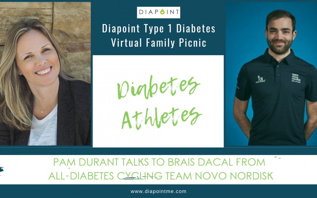 Diabetes Athletes: Brais Dacal of Team Novo Nordisk