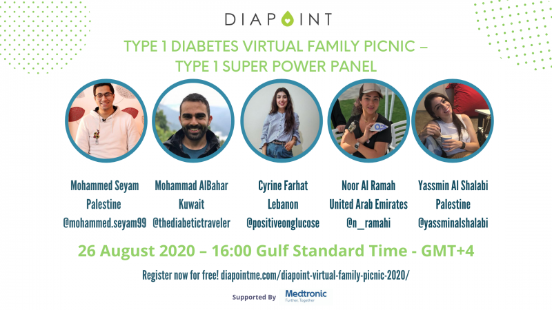 diabetes panel live discussion - Diapoint Virtual Family Picnic