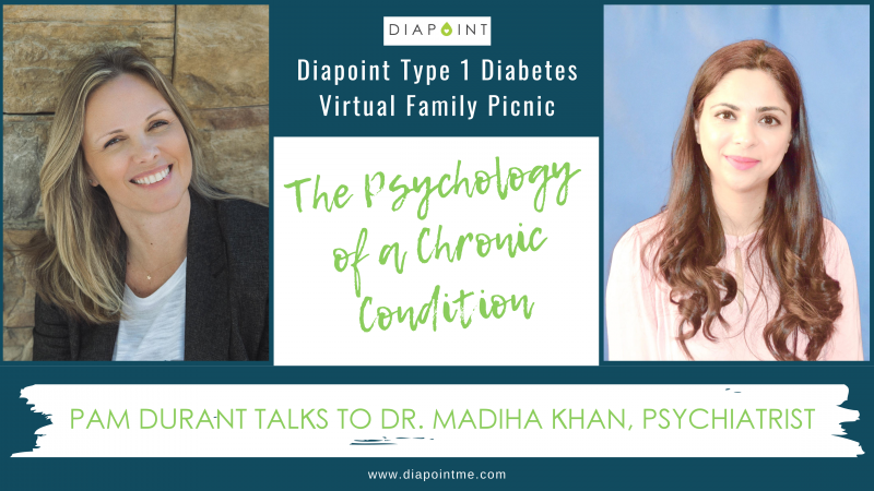 Dr Madiha Khan, psychology and diabetes - Diapoint Virtual Family Picnic