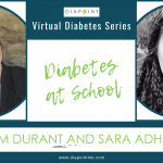 live discussion diabetes at school