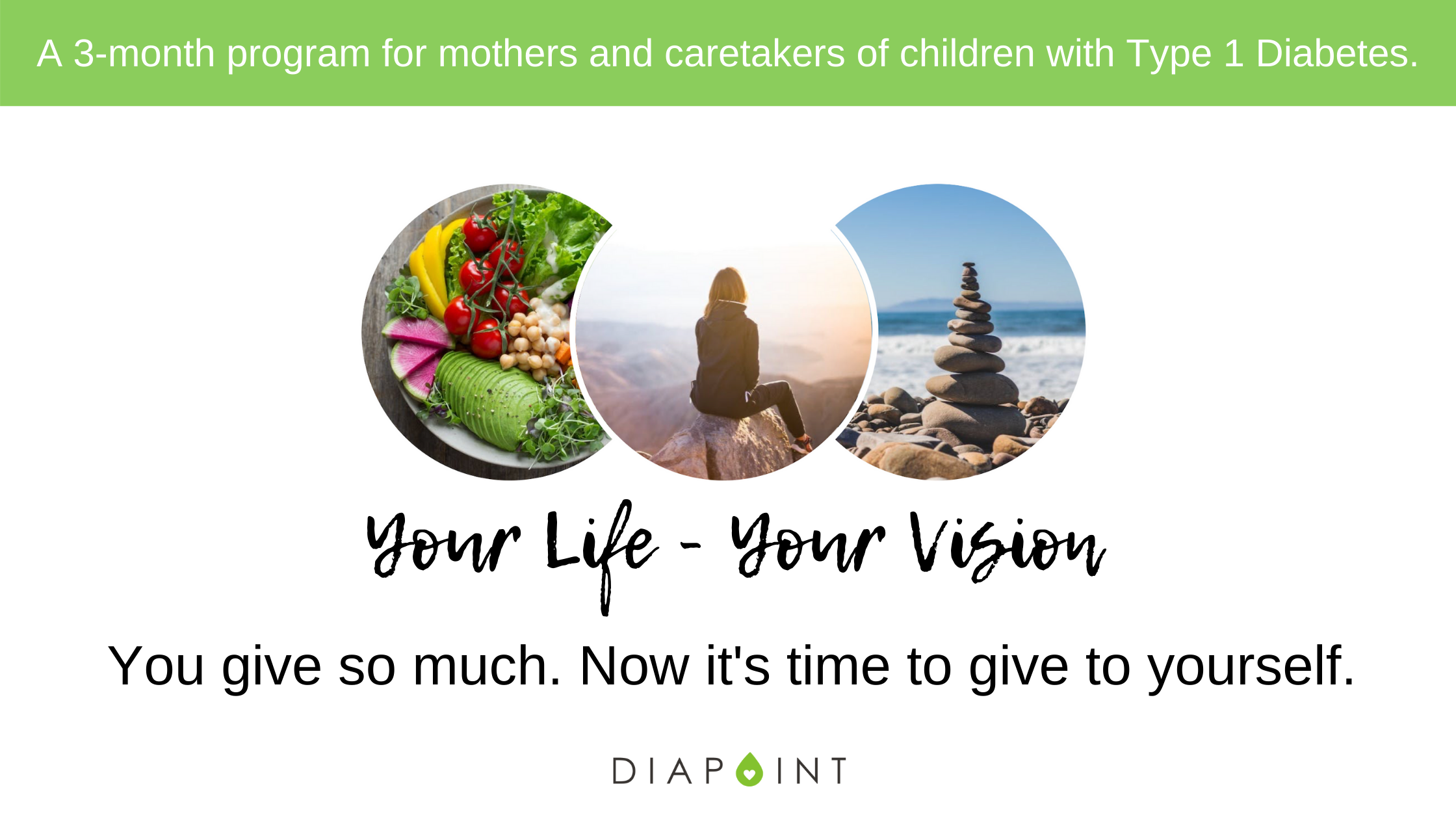 Self-care for moms of kids with diabetes