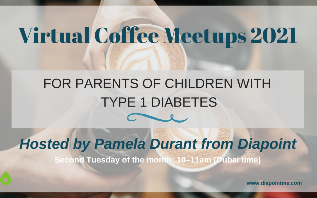 Virtual Meetups for Parents of Children with Type 1 Diabetes 2021